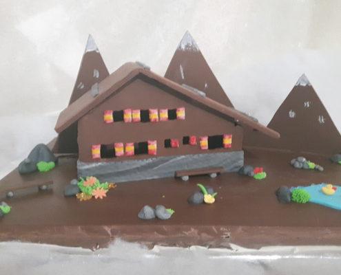 Ferienhaus aus Schokolade