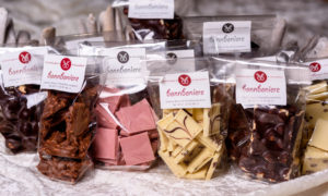 Verschiedene Schokoladen