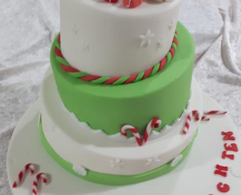X-mas-Torte
