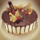 Drip cake mit Ganache