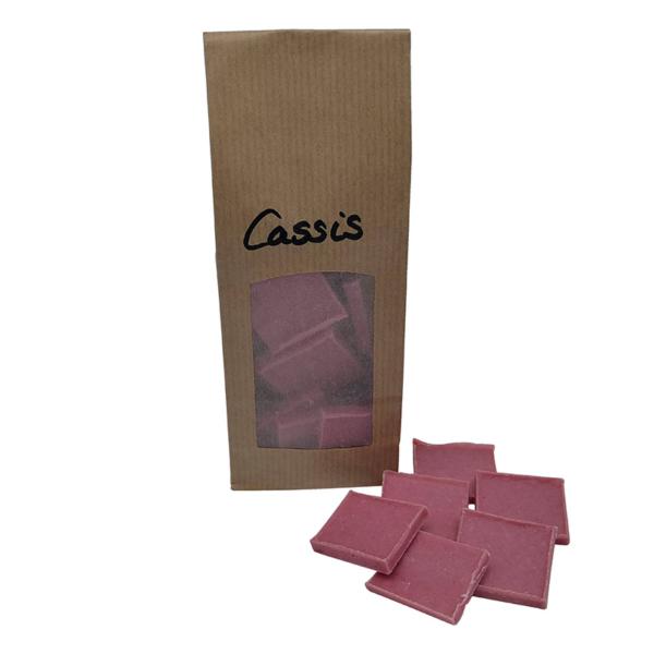 Cassis-Schokolade