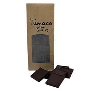 Schokolade aus der Region Tumaco in Kolumbien, geschmacksintensiv, schokoladig, kräftig, vegan.